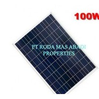 Solar Panel 100 WP PolyCrystalline Modul Surya