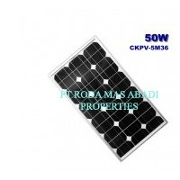Solar Panel 50 WP MonoCrystalline Modul Surya