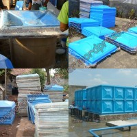 Tangki panel fiber,Roof tank fiberglass, Tangki penampungan air kotak,Tangki fiberglass, Rooftank pa