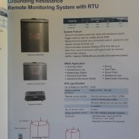 GROUNDING RESISTANCE REMOTE MONITORING SYSTEM WITH RTU