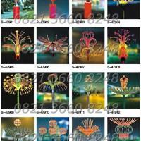 Lampu Hias Taman Motif Fireworks RL01