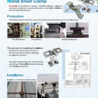 METAL SHEET CLAMP
