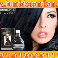 BLACK MAGIC KEMIRI SHAMPO PEMANJANG RAMBUT ASLI CALL 081318031115