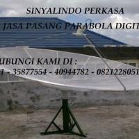 HARGA PAKET JASA PASANG PARABOLA DIGITAL Di MATRAMAN JAKARTA