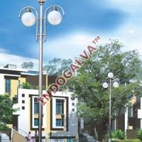 Tiang Lampu Taman Modern Minimalis Tipe CP8100