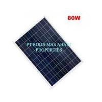 Solar Panel 80 WP PolyCrystalline Modul Surya