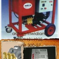 Pompa Hydrotest 300 Bar / 4350 Psi 27L/M