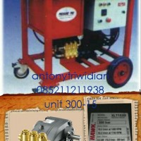 Pompa Hydrotest 300 Bar / 4350 Psi 15L/M