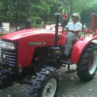 TRACTOR 4WD JINMA 354
