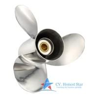 Suzuki Stainless 3 Blade Propeller-14 x 18