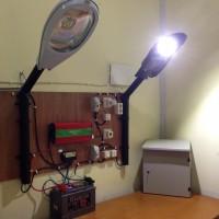 Distributor Lampu Penerangan Jalan Umum Solar Cell, PJU 2 Lampu, gudang lampu jalan Solar Cell