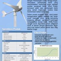 Horizontal Axis Wind Power 400Watt