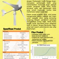 Wind Power 700Watt Horizontal Axis