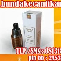 Serum Vitamin C mengembalikan sehat alami kulit serta melembutkan kulit wajah Call 081318031115