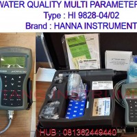 081362449440 Jual HI 9828-04/ 02 HANNA INSTRUMNET MULTI PARAMETER With GPS
