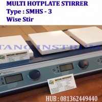 081362449440 Jual multi-point hotplate stirrer SMHS-3 WiseStir