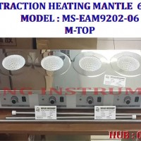 081362449440 JUAL M-TOP FAVORIT 6 Places Extraction Mantle / HEATING MANTLE
