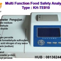 081362449440 Jual Multi Function Food Safety Analyzer KH-TE010 ALAT UJI MAKANAN