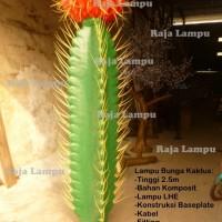 Lampu Hias Taman Bunga Kaktus