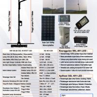 PJU Solar Cell 40 Watt LED