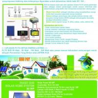 SOLAR CELL HOME SYSTEM SURYA PAKET SHS / RAKITAN SOLAR CELL TERMURAH DISELURUH INDONESIA-Solarcell