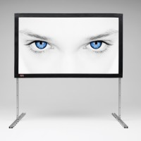 Distributor Projection Manual Screen Fast Fold Screen - Projection Manual Screen terbaik dan murah