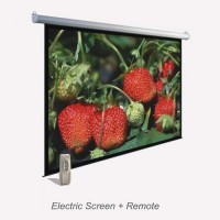 ESS 184 - Projection Electric Screen ROYAL-Distributor Projection Electric Screen di Indonesia