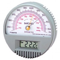 Menjual SATO Cat 7612-00 Barometer with Digital Thermometer