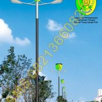 Tiang Lampu PJU Logo Kabupaten Palangkaraya