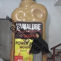 Balon Karakter | Balon Produk Bentuk Botol Oli Yamalube