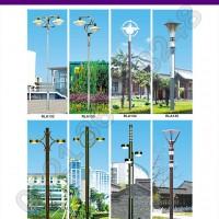 Pabrikasi Tiang Lampu Taman Jawa Tengah