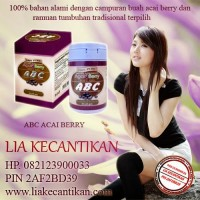 abc acai berry obat pelangsing tubuh hub 082123900033