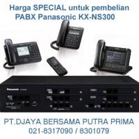 PABX Panasonic Terbaru KX-NS300 : Rp.6.200.000,-