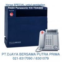 PABX Panasonic KX-TDA600 : 021-8317090