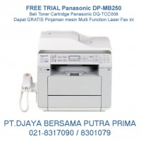 Free Biaya Sewa Fax Panasonic DP-MB250 : 021-8317090