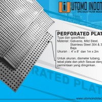 PERFORATED PLATE (PLAT LOBANG)