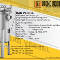 BAG VESSEL  HOUSING BAG FILTER