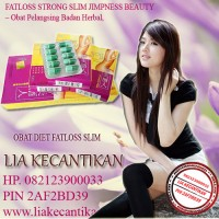FATLOSS SLIMMING HERBAL (082123900033)