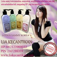 LOTION SAMMY KOREA PRODUK WHITENING LOTION (082123900033)