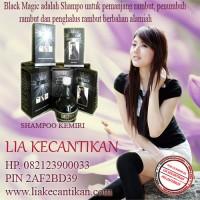 SHAMPOO BLACK MAGIC KEMIRI(082123900033) Untuk pemanjang rambut, penumbuh rambut dan penghalus rambu