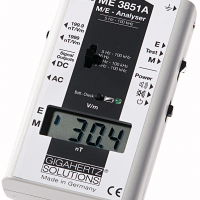 ELELCTROMAGNETIC FILED METER (ME3851A), EMF METER