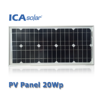 ICASolar® Panel Surya 20Wp