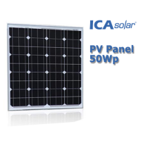 ICASolar® Panel Surya 50Wp