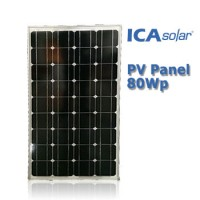 ICASolar® Panel Surya 80Wp