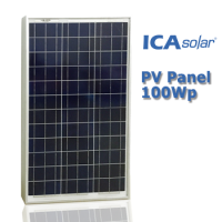 ICASolar® Panel Surya 100Wp