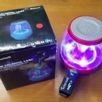 speaker bluetooth lampu disco cx28 u