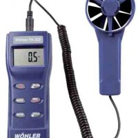 Portable Fan Anemometer ( Wohler/ FA-320)