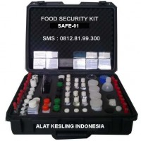 FOOD SECURITY KIT || SAFE-01 || REAGENT FOOD SECURITY KIT INDONESIA
