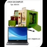 STACK GAS AND DUST SAMPLER SGS-G10, STACK GAS SAMPLER, STACK DUST SAMPLER