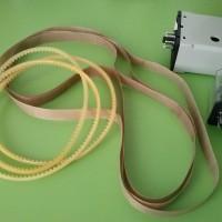 Spare Part mesin Continuous Sealer, kain anti panas, teflon belt 75, 77, 80, 100, 112, 137 cm